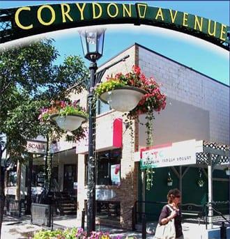 Corydon Avenue Winnipeg